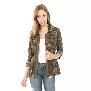 Ashley 26 International Outerwear Camo Jacket 1X